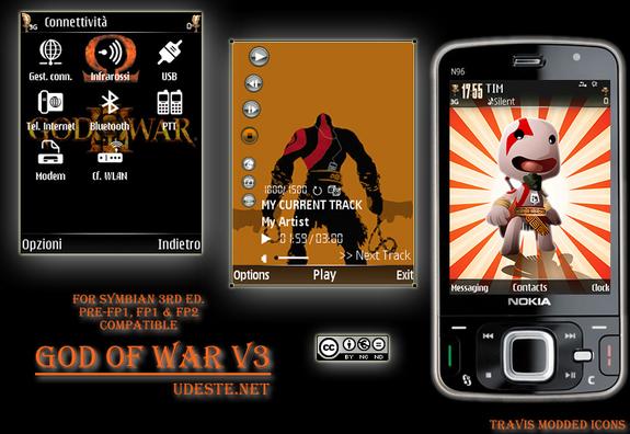 God of war v3 by udeste nokioteca nokia blog for Soluzione giardini superiori god war 3