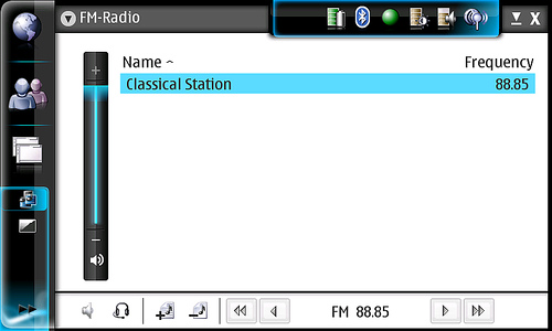 Nokia N800 Radio FM