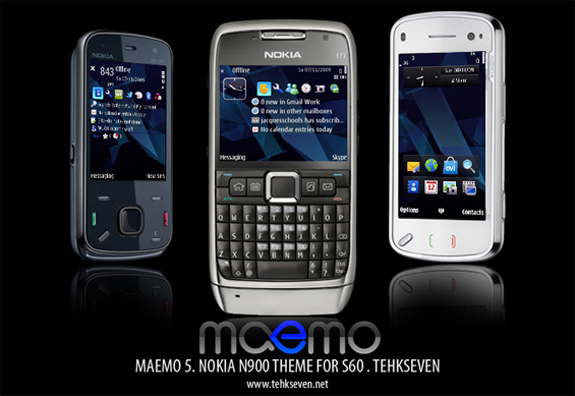 Maemo 5 by tehkseven