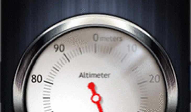 Analog Altimeter Touch