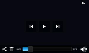 Controlli del Media Player