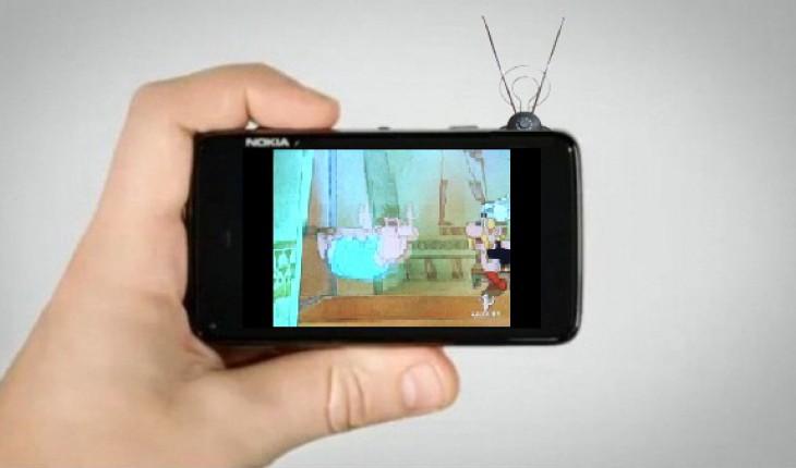 Il Nokia N900 diventa una televisione!