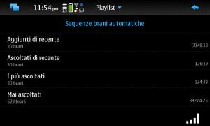 Playlist automatiche