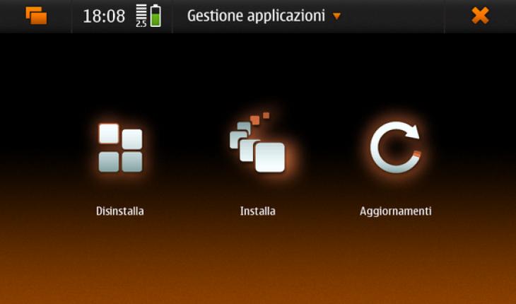 Gestione Applicazioni N900