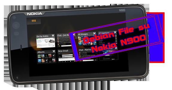 Installare file Debian su Nokia N900