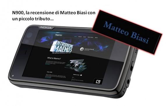 Nokia N900, la recensione di Matteo Biasi