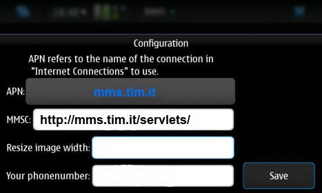 Nokia N900, MMS per tutti
