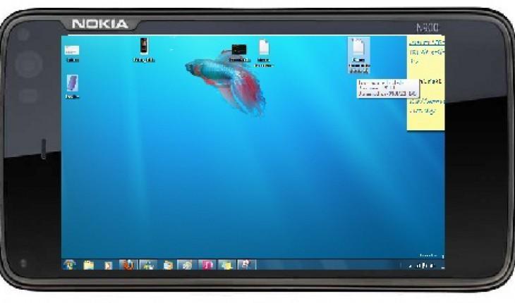Vnc Nokia N900 (immagine non reale)