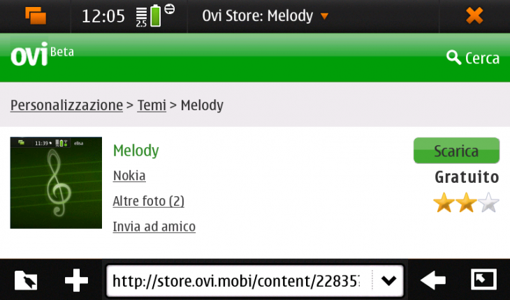 Ovi Store su N900