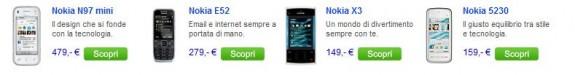 Nuovi prezzi per i terminali Nokia