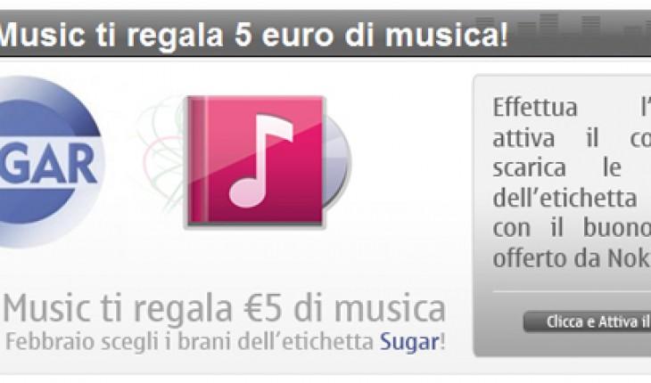 Nokia Music ti regala 5 euro di musica!