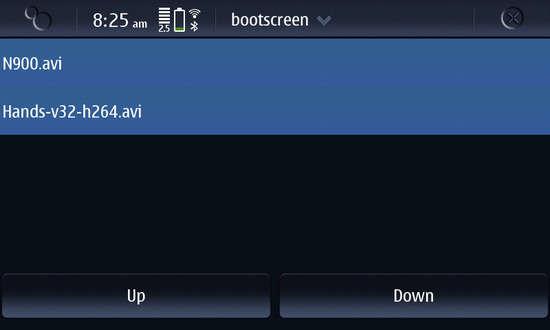 Bootscreen