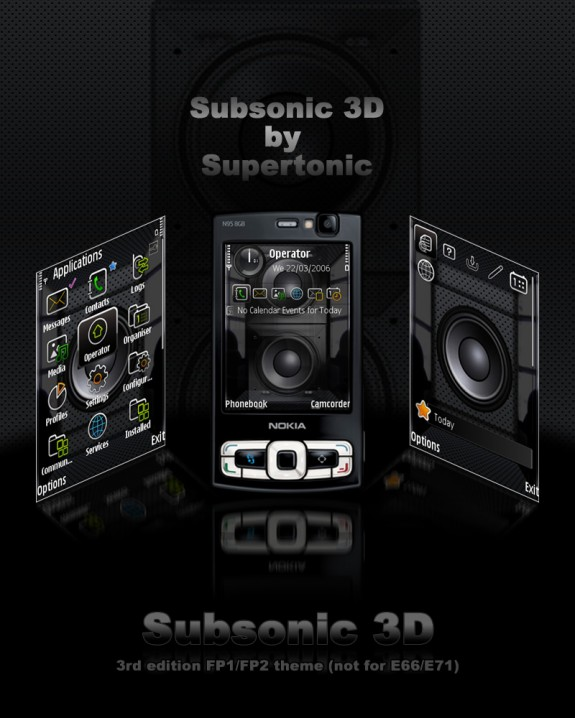 Subsonic 3D theme by Supertonic