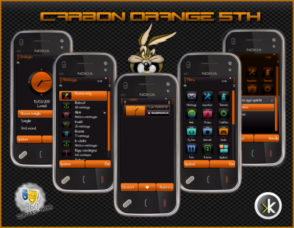 Carbon Orange 5th by Babi