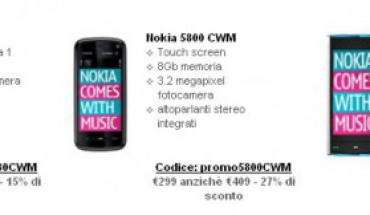 Offerta Nokia Comes With Music