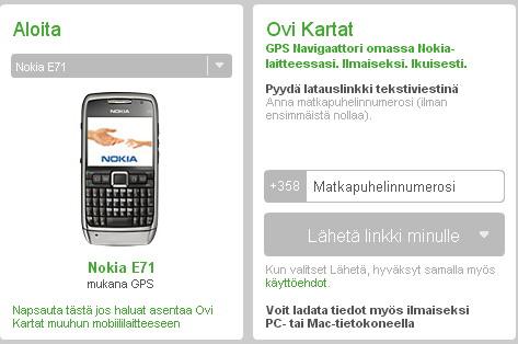 Ovi Maps 3.03 per E71