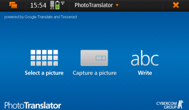PhotoTranslator per N900