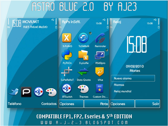 Astro Blue 2.0 by AJ23
