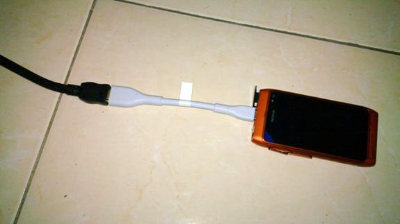 Nokia N8: uscita TV in HDMI