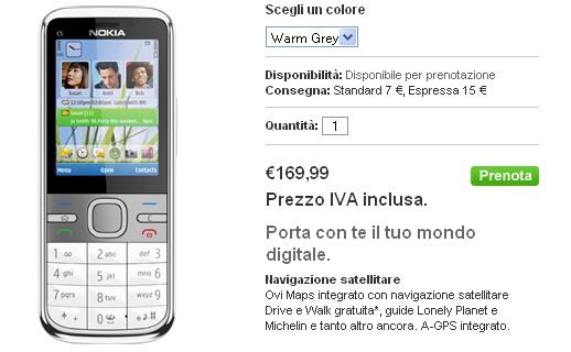 Nokia C5 su Nokia Online Shop