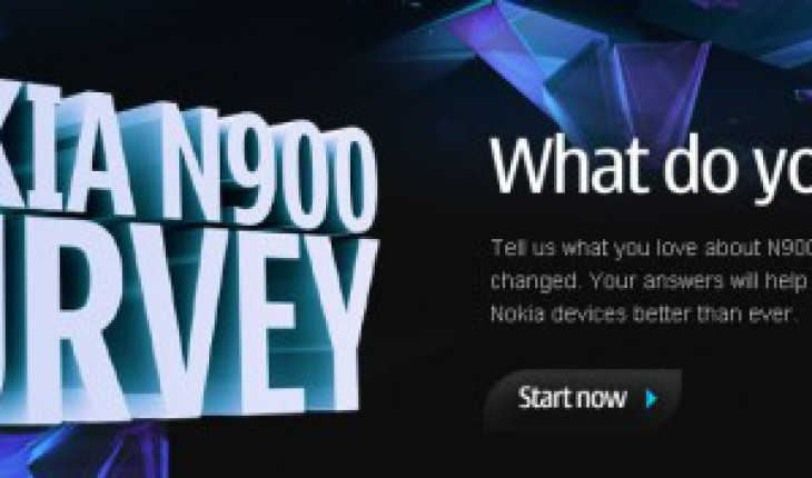 Nokia N900 Survey