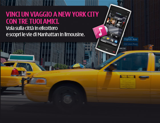 Nokia vinci NewYork