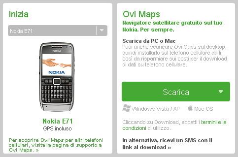 Ovi Maps 3.03 per E71 ed E66