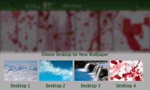 Scegli desktop