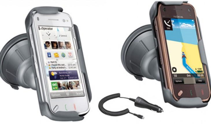 Supporto per auto per Nokia N97 e N97 mini e Caricabatterie da auto