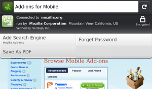Firefox Mobile 1.1 per N900