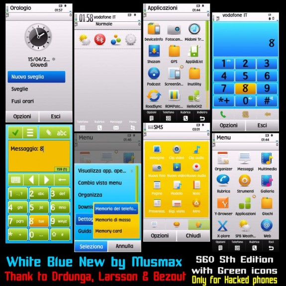 White Blue New by Musmax