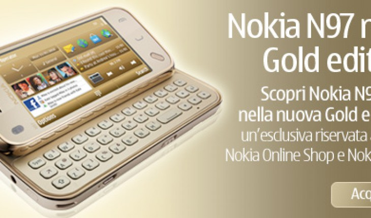 N97 mini Gold Edition