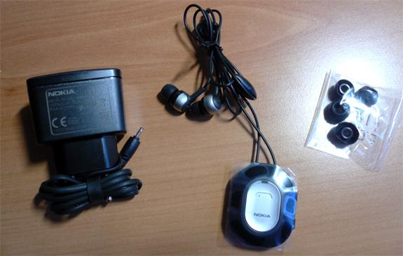 Contenuto della confezione di vendita del Nokia Bluetooth Stereo BH-103