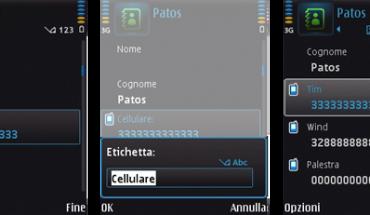 Gestione della Rubrica nei Symbian S60