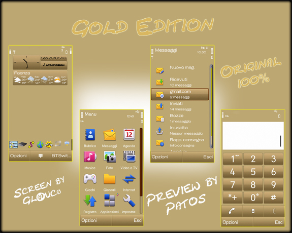 Theme Gold Edition