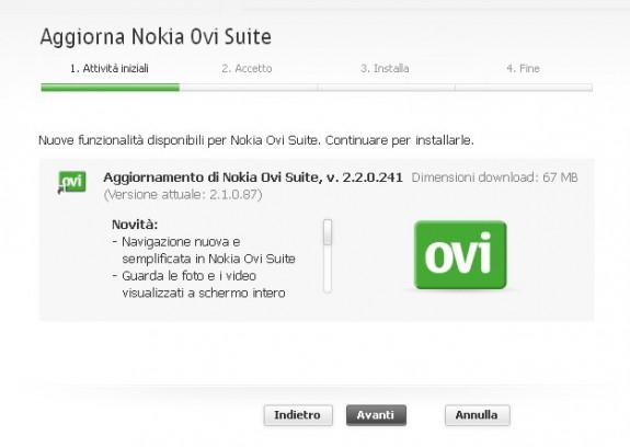 Ovi Suite 2.2
