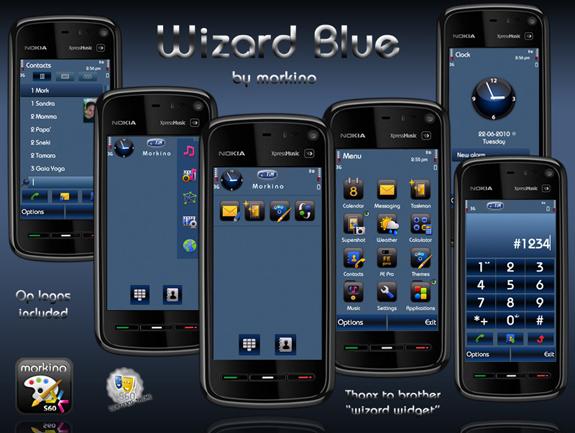 Wizard Blue by morkino