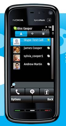 Skype per symbian
