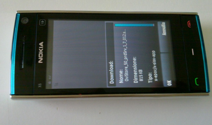 Nokia X6-00