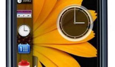 Nokia 5800 con Homescreen Samsung