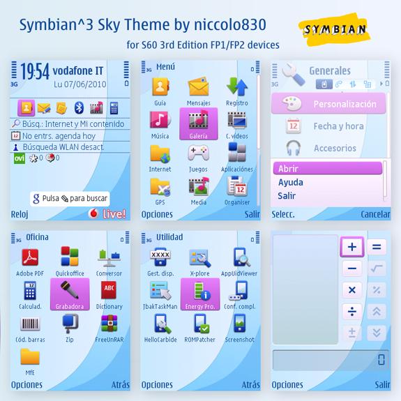 Symbian^3 Sky by niccolo830