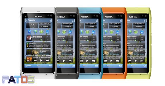 Le colorazioni disponibili per il Nokia N8