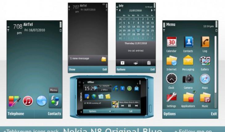 Nokia N8 Original Blue by Mandeep