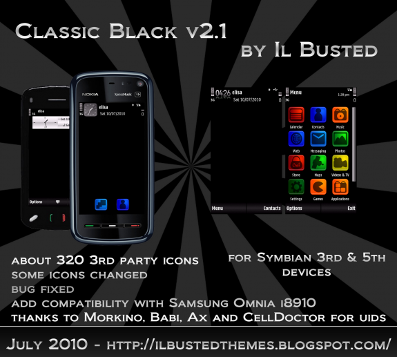 Classic Black v2.1 by Il Busted