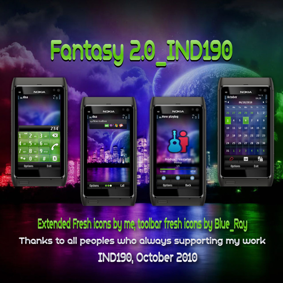 Fantasy 2.0 by IND190