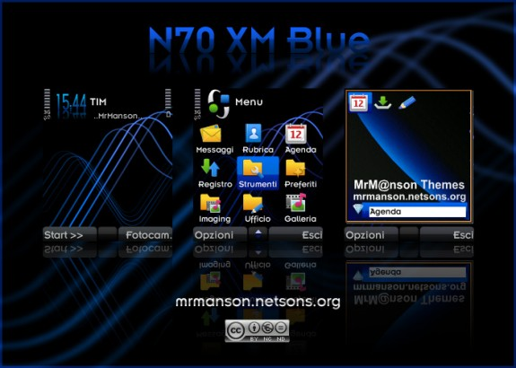 N70 Xpress Music Blue by MrM@nson
