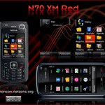 N70 Xpress Music Red by MrM@nson