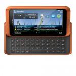 Nokia E7 arancio