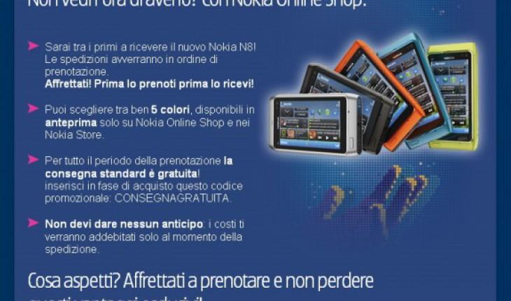 Nokia N8 - I vantaggi della prenotazione