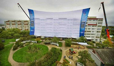 Nokia, lo schermo cinematografico più grande del mondo